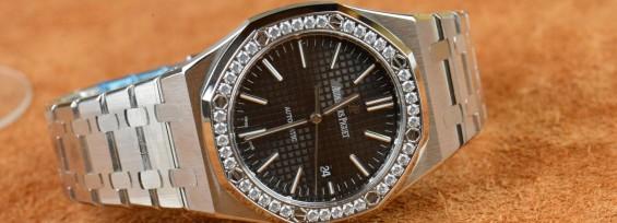 Audemars Piguet Royal Oak 41mm Diamond Replica Wristwatch Review