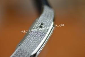 Cartier Santos 100 Chronograph Diamond Set Replica Watch W20073X8_05