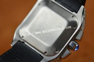 Cartier Santos 100 Chronograph Diamond Set Replica Watch W20073X8_11