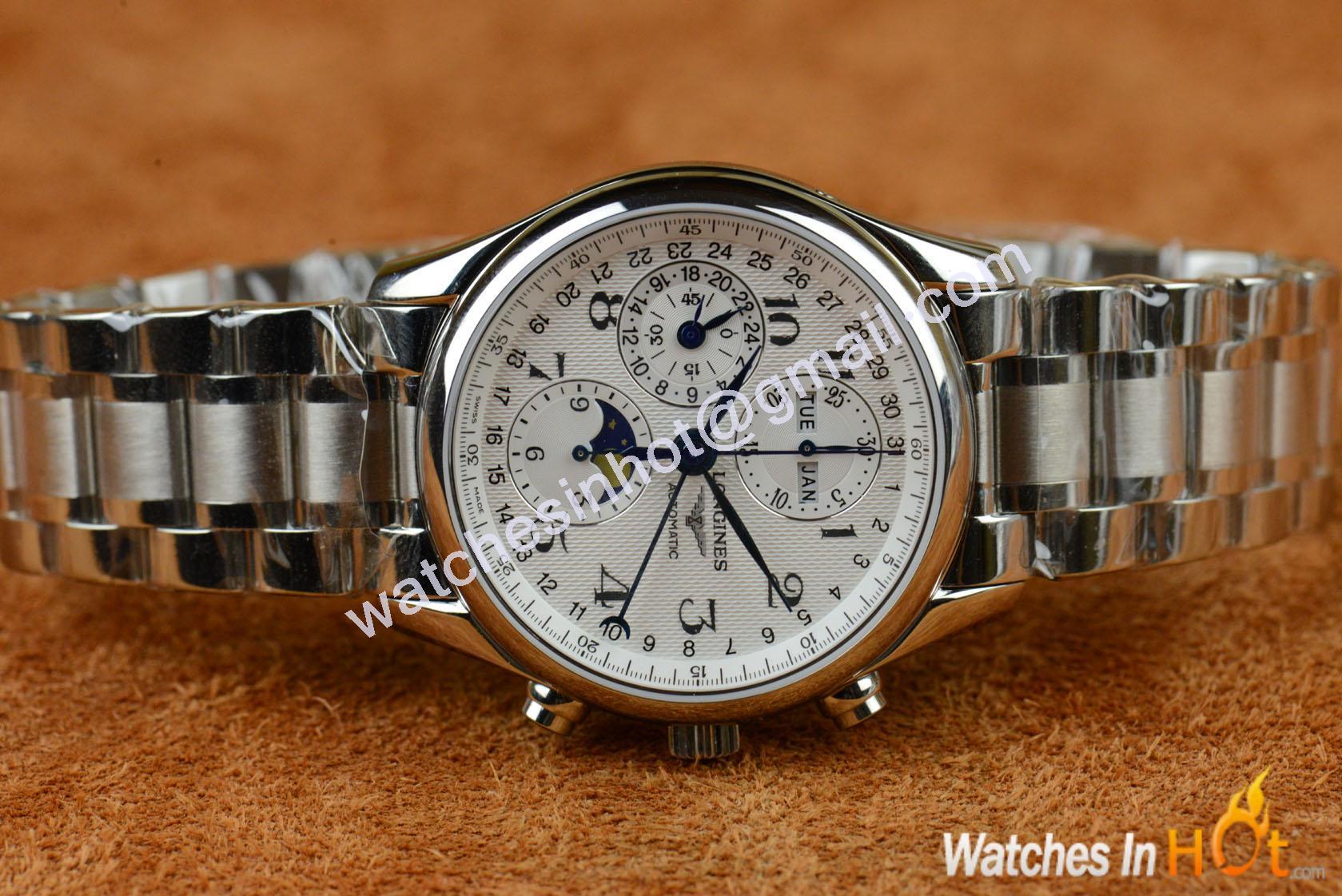 Longines master chronograph replica watch masculine replica watches reviews for Replica watches