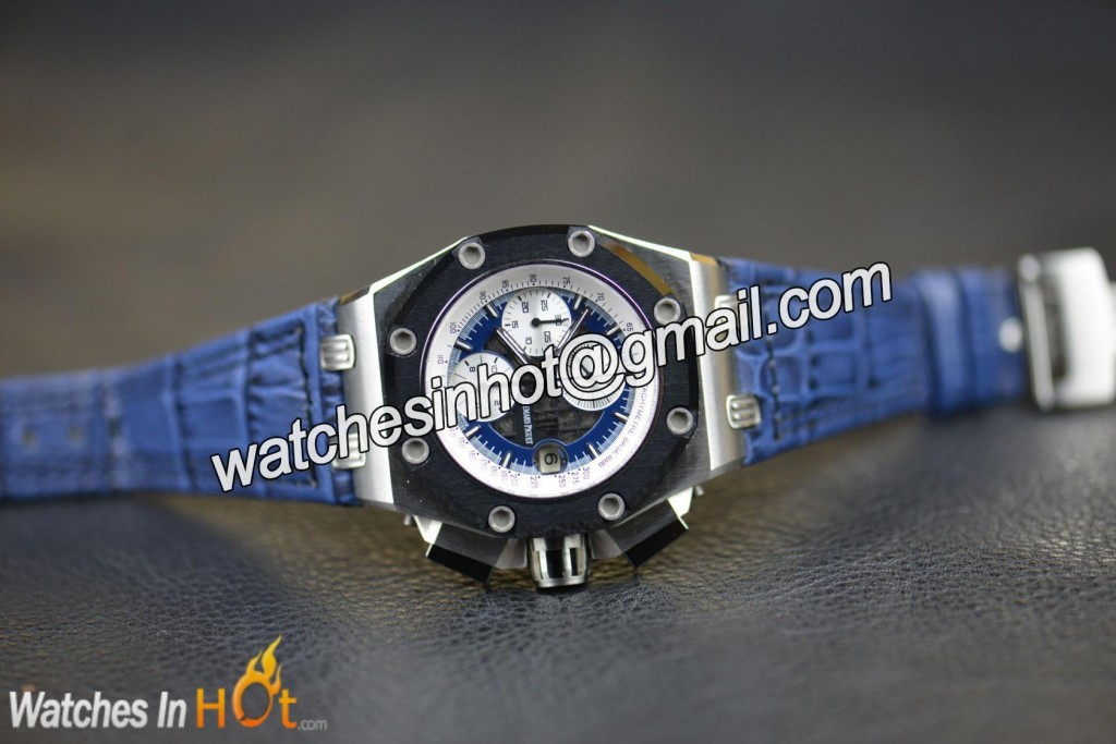 Audemars Piguet Royal Oak Offshore Rubens Barrichello II 26078PO.OO.D018CR.01 Replica Watch Noob Edition