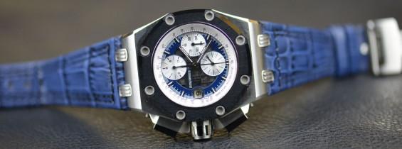 Audemars Piguet Royal Oak Offshore Rubens Barrichello II 26078PO.OO.D018CR.01 Replica Watch Noob Edition