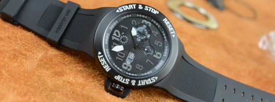 Extremely Robust and Stylish Hamilton Khaki Base Jump Chrono Replica Watch