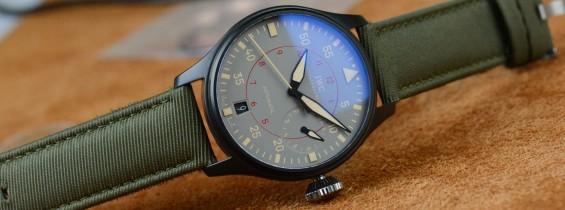 IWC Big Pilot Top Gun Miramar Ceramic Replica Watch – Military Style