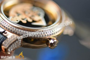 Crown of Ulysses Nardin Freak Diamond Set Replica Watch with Rose Gold Plated Review
