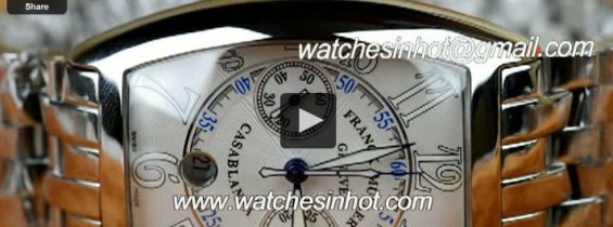 Video Review – Franck Muller Casablanca Chronograph Replica Watch