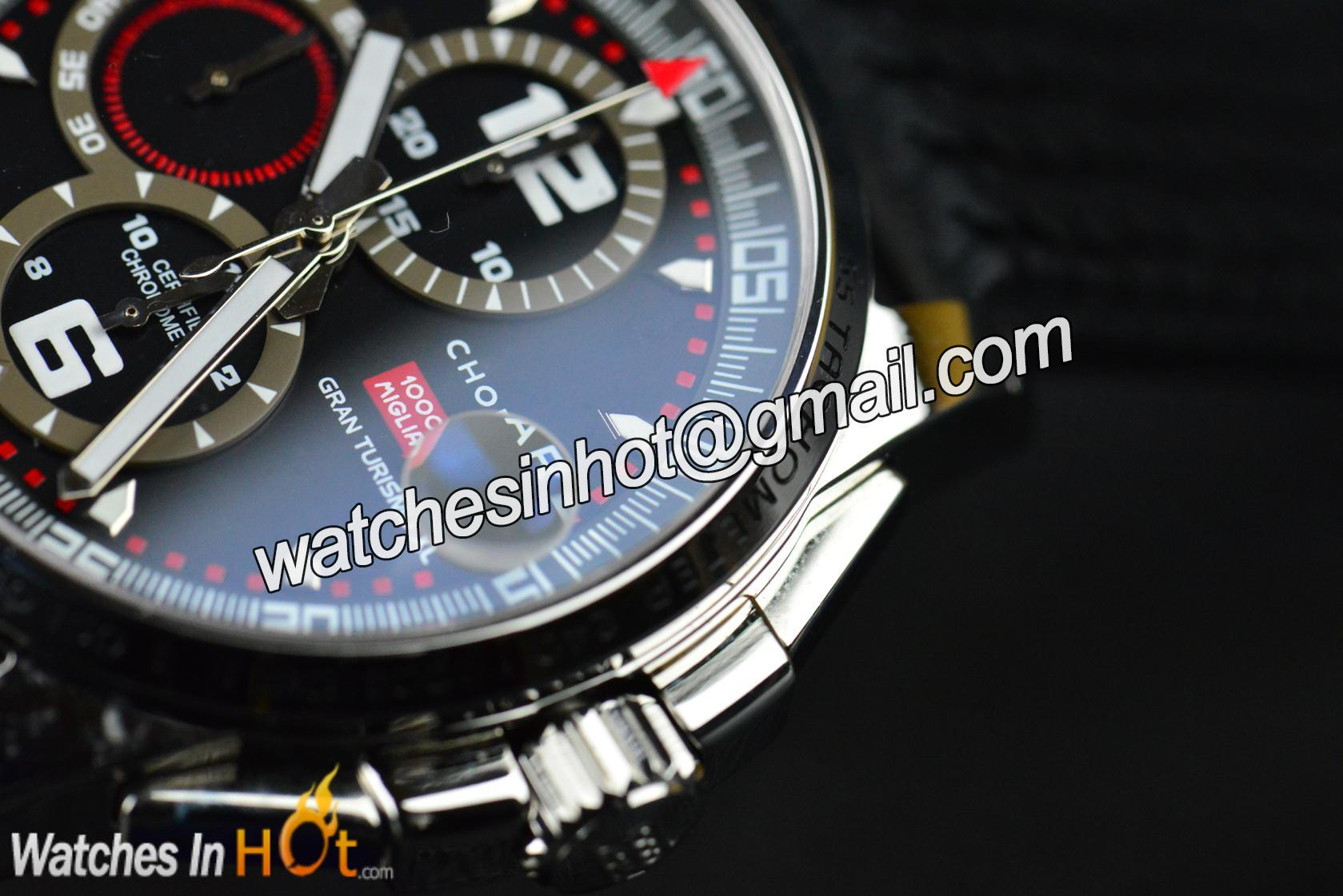Replica mens watches - Sapphire Crystal Lens On Chopard Mille Miglia Gt Xl Chronograph Mens Replica Watch 16 8459