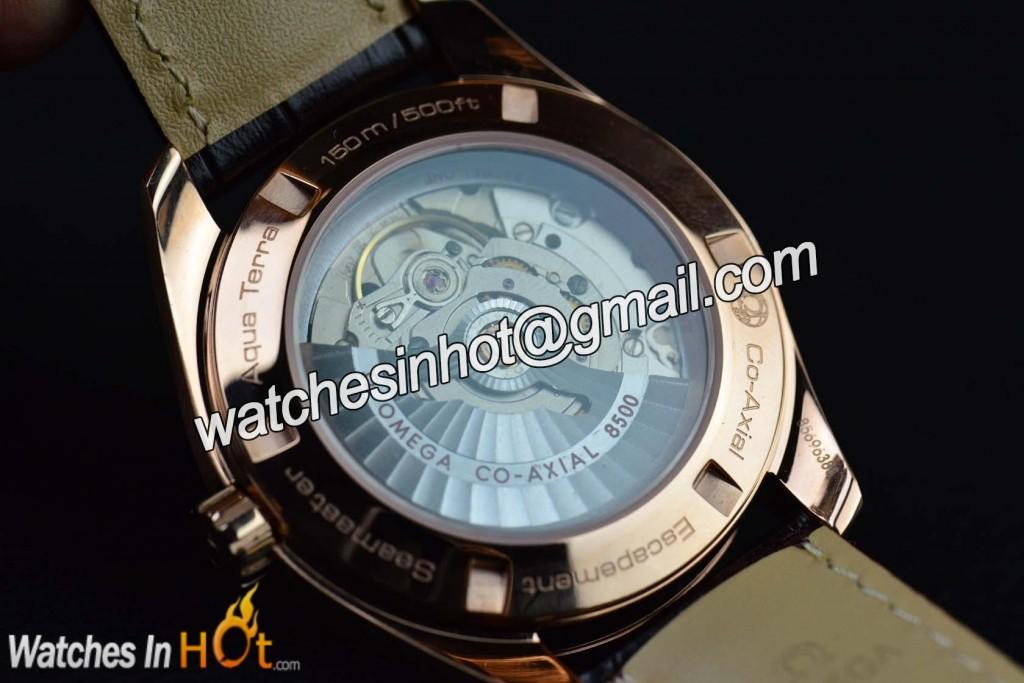 Omega seamaster auqa terra chronometer replica watch replica watches reviews for Omega replica watch