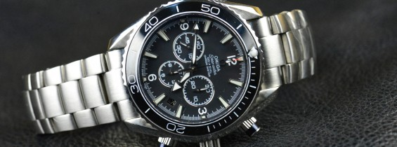 Omega Seamaster Planet Ocean Chrono 2210.50.00 Replica – Noob Edition