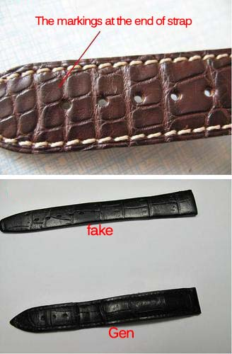 how to spot fake crocodile leather strap replica watches reviews. Black Bedroom Furniture Sets. Home Design Ideas