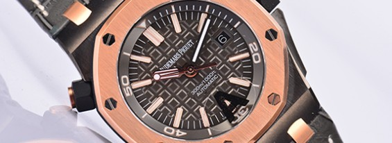 Replica Audemars Piguet ROO Diver QEII CUP 2014 Rose Gold by J12 Maker