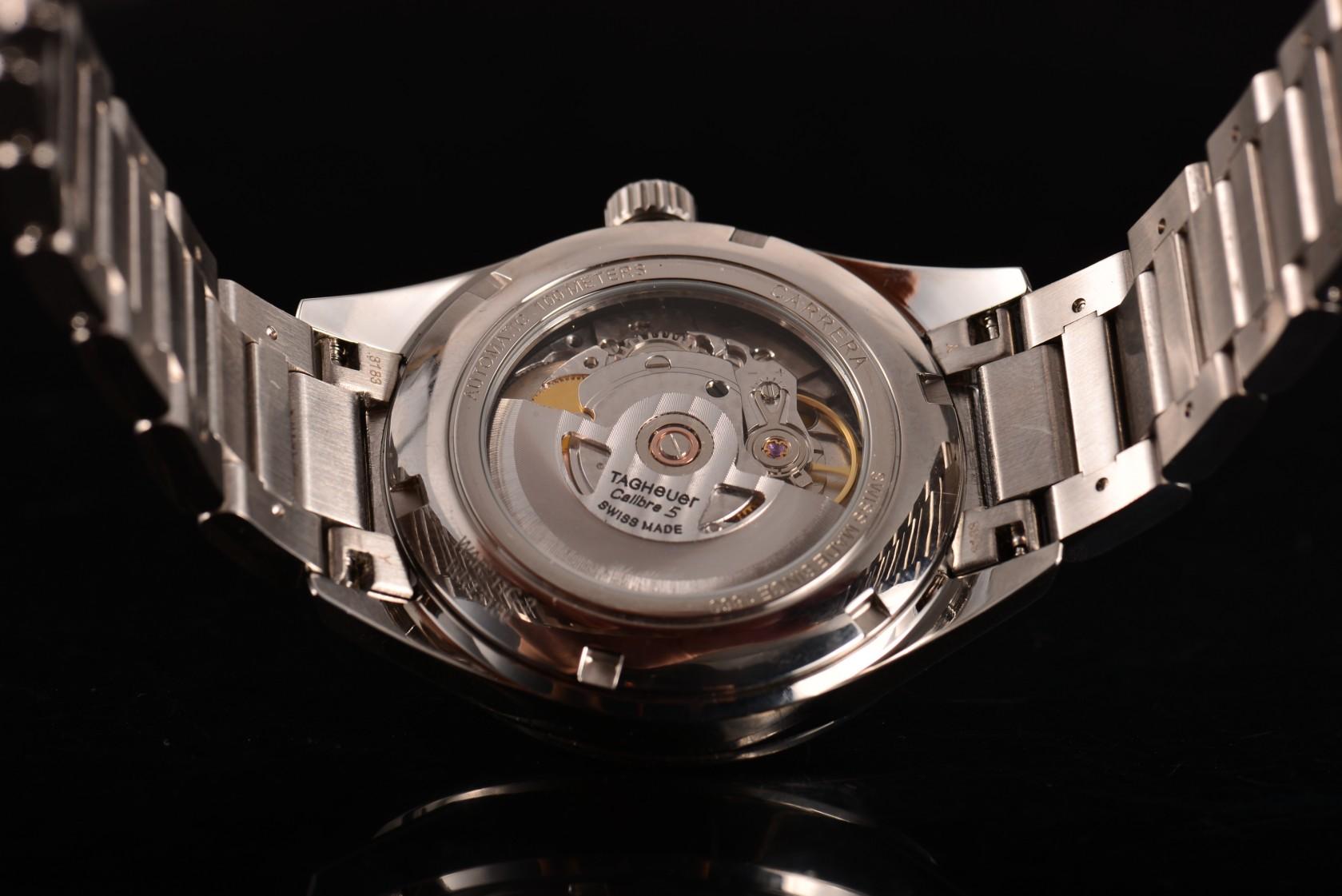 80699e835d Quality Tag Heuer Carrera Calibre 5 Automatic Replica Review ...
