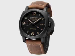 Offen Uhrenband Leder Kompatibel Panerai Luminor Gutes Renommee Auf Der Ganzen Welt 24 Mm Bordeaux
