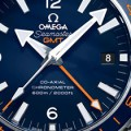 My first view at the Omega Seamaster Planet Ocean GMT 600M Replica