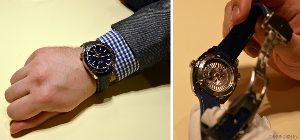 My First View At The Omega Seamaster Planet Ocean Gmt 600m