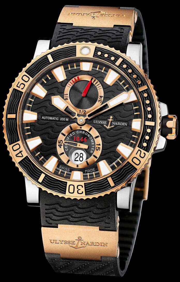 часы ulysse nardin maxi marine diver выбирает