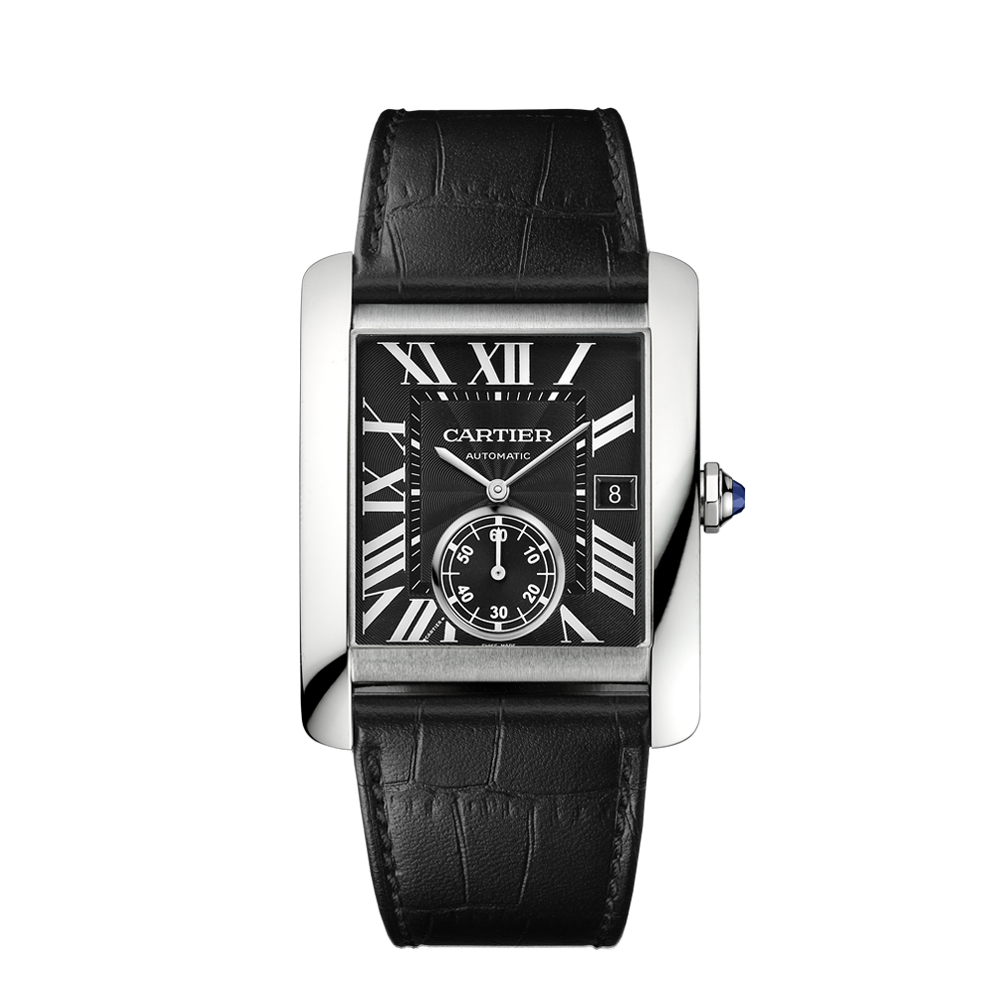 cartier tank mc replica top elegant dress watch for men replica watches reviews. Black Bedroom Furniture Sets. Home Design Ideas