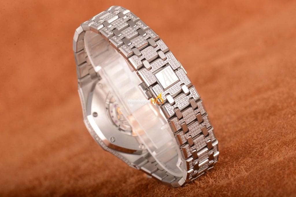 New Audemars Piguet Royal Oak 15400 Diamond Replica Watch Review