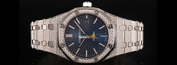 New Audemars Piguet Royal Oak 15400 Diamond Replica Watch Review