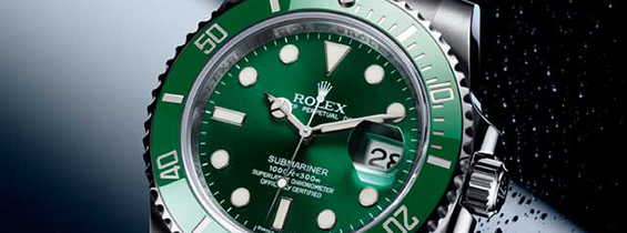 CF Replica Rolex Submariner Green Dial Steel Men's Watch - Clone 3135
