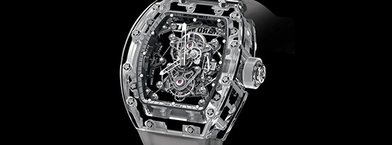 Richard Mille RM 56-01 Sapphire Crystal Tourbillon Replica Watch