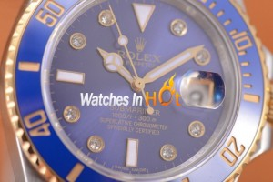 BP Maker - Rolex Submariner Replica Two Tone Replica Blue Dial