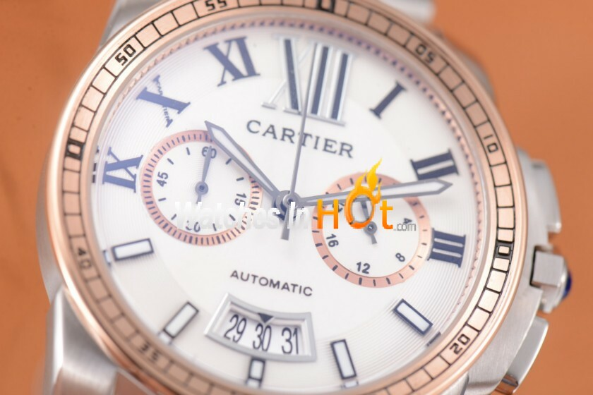 Calibre De Cartier Chronograph Replica