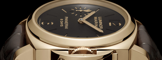 Panerai Luminor Marina 8 Days Oro Rosso PAM00511 Replica with P.5000 – ZF