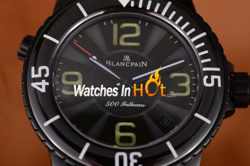 Replica Blancpain Fifty Fathoms 500 Fathoms Mens Watch