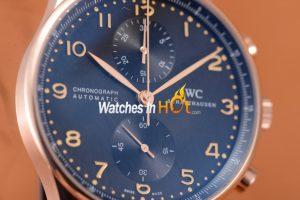 IWC Portugiesier Chronograph Replica Watch Review