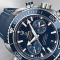 Omega Seamaster Planet Ocean 600 M Chrono Replica with Clone Omega 9900 - EF Maker