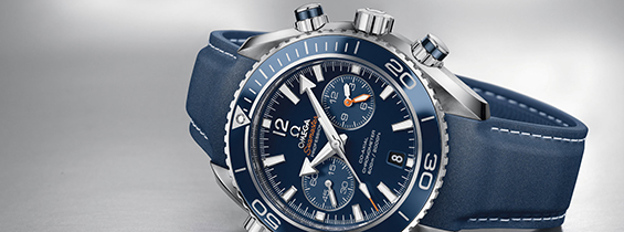 Omega Seamaster Planet Ocean 600 M Chrono Replica with Clone Omega 9900 – EF Maker