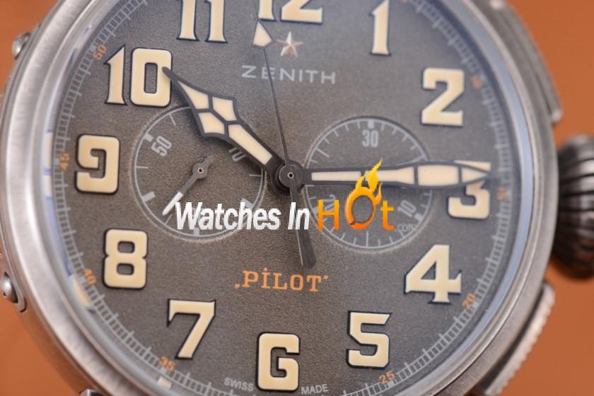 zenith heritage pilot cafe racer spirit el primero chronograph