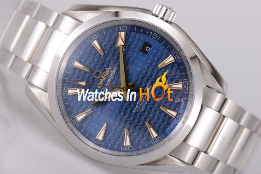 Omega Rio Inspired Seamaster Aqua Terra 150 M Replica Watch with Clone 8500 - EF
