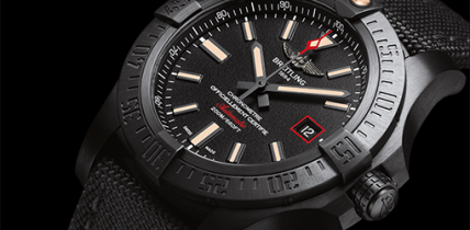 Breitling Avenger Blackbird Replica Watch Review – ETA 2824