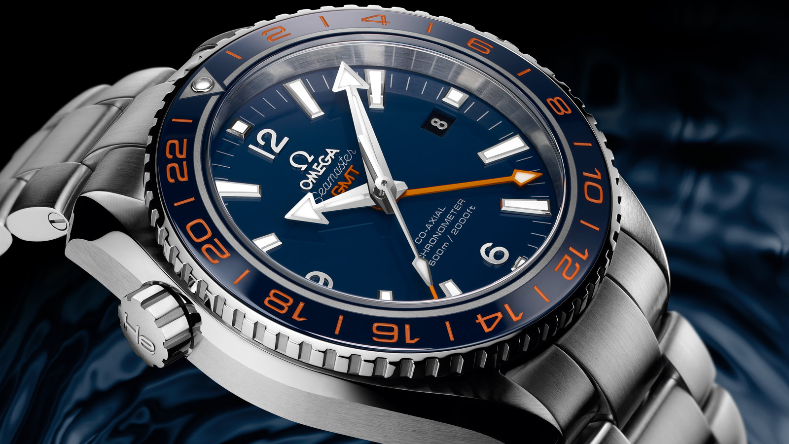 New Version Of Omega Seamaster Planet Ocean Gmt Replica