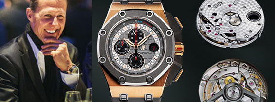 Audemars Piguet Royal Oak Offshore Chronograph Michael Schumacher Clone AP 3126 Review (J12 Maker)