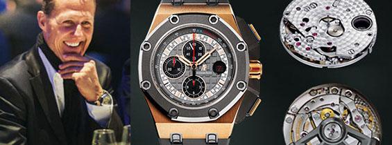 Audemars Piguet Royal Oak Offshore Chronograph Michael Schumacher Clone AP 3126 Review (J12 Maker)