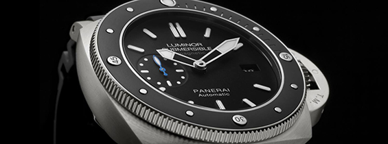 Panerai Luminor Submersible 1950 Amagnetic 3 Days Automatic Titanio Replica Video Review
