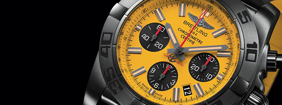 Replica Breitling Chronomat 44 Blacksteel Special Edition Video Review