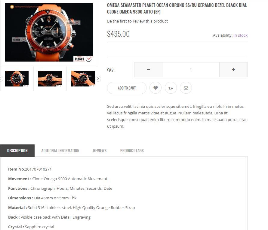 New Replica Watch Website Review - PFC-dealer.me