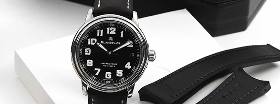 Video Review: Blancpain Leman Hundred Hours Replica AAAF