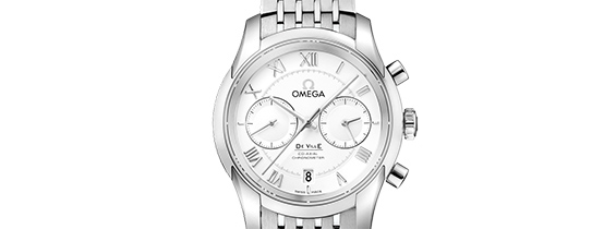 Replica Omega De Ville Co-Axial Chrono Review - Clone Omega 9300 (EF)