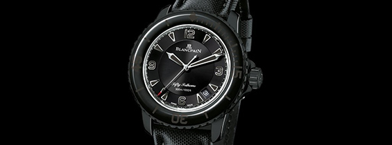 Video Review 1:1 Blancpain Fifty Fathoms 5015 Black Replica Watch (ZF)