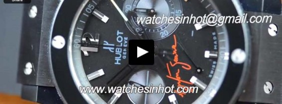 Hublot Big Bang Ayrton Senna Ceramic Replica Watch