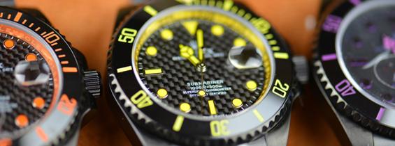 Pretty Neat Rolex Submariner Carbon Face Replica
