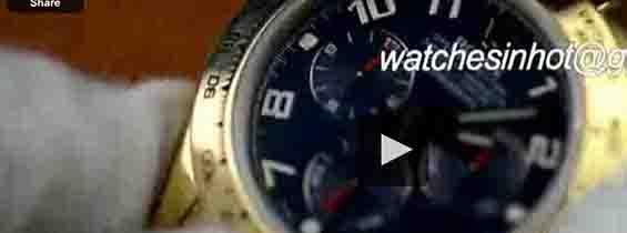 Replica Rolex Daytona Gold Blue Dial