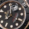 Rolex Yacht-Master 116655 Replica Watch In Everose Gold With Black Ceramic Bezel